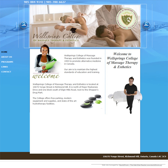 Wellsprings College of Massage Therapy & Esthetics